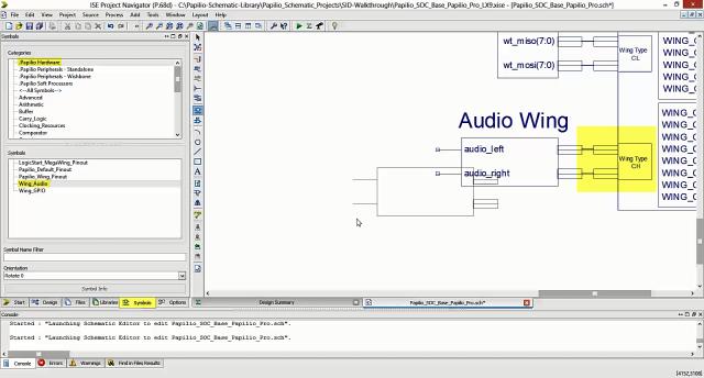 Audio Wing Symbol
