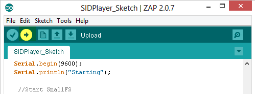 Upload Sketch